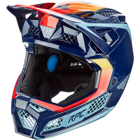 Fox Rampage Pro Carbon Daiz Casco Uomo, navy